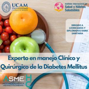 Experto Universitario en Manejo Clínico y Quirúrgico de la Diabetes Mellitus